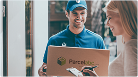 Parcel to Aruba will be delivered from door to door