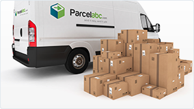 We can ship large and small parcels